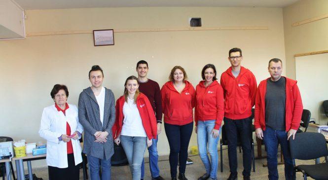 Įvyko pirmoji Šeškinės bendruomenės organizuota kraujo donorystės akcija