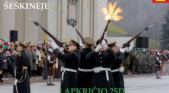 Kviečiame visus paminėti Lietuvos kariuomenės dieną