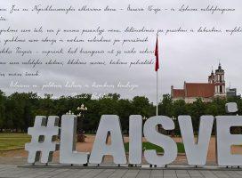 Šeškinės tremtiniai sveikina Lietuvą