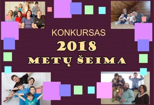 """Daugiavaikių šeimų asociacija MES skelbia """"2018 Metų šeimos"""" rinkimus"""