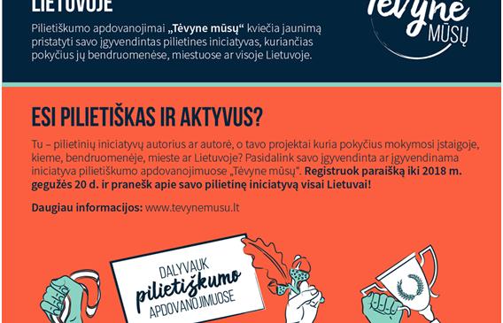 Vertiname Pilietišką jaunimą Lietuvoje