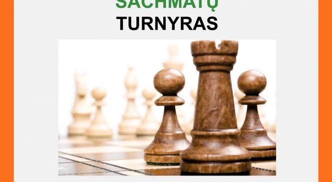 Kviečiame visus dalyvauti šachmatų turnyre!