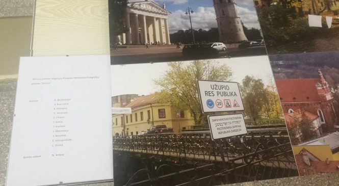 Šeškinės bendruomenės centre eksponuojama neįgaliųjų nuotraukų paroda