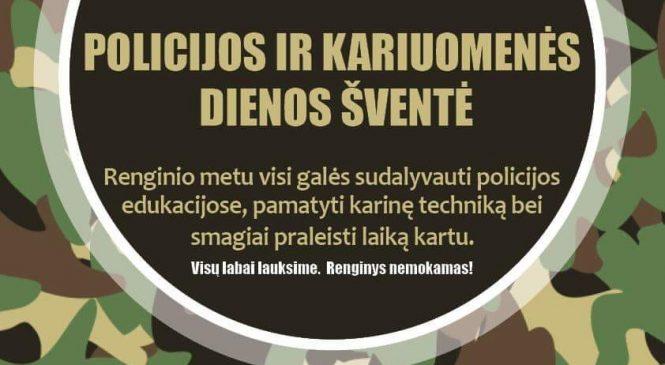 Policijos ir kariuomenės dienos šventė