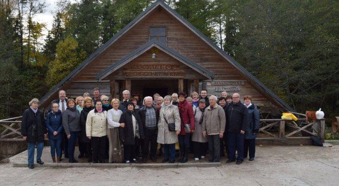Šeškinės bendruomenės atstovai susitikimo su Zarasų krašto bendruomenėmis