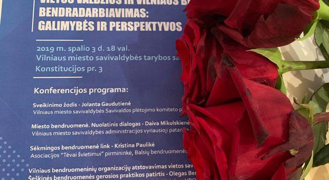 Įvyko Šeškinės bendruomenių sąjungos organizuojama konferencija apie šiuolaikinę lyderystę vietos bendruomenėje