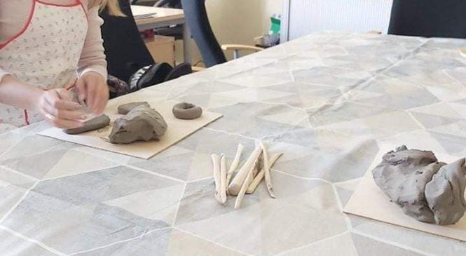 Bendruomenės centre vyko paskutiniai meno terapijos užsiėmimai