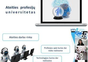 Ateities profesijų universitetas kviečia