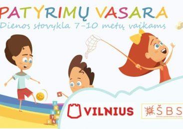 Vaikų vasaros stovykla Patyrimų vasara